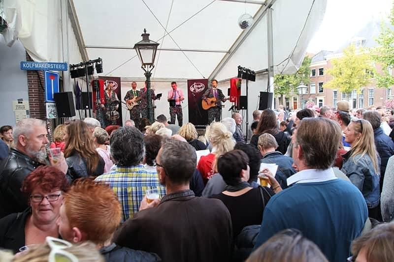 De Slechte Band bij l'Espérance op 3 oktober 2017