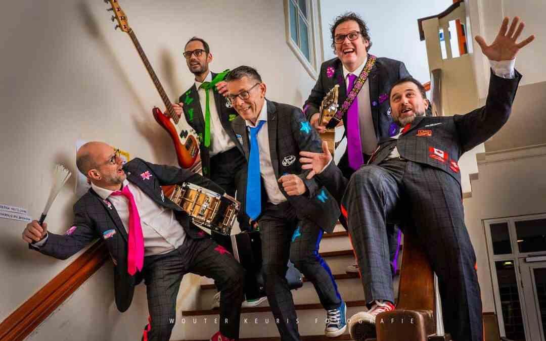 De Slechte Band uit Leiden in LEVEN! Magazine