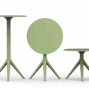 table-gueridon-ronde-design