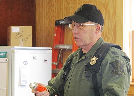 Massachusetts Environmental Police Lt. Terry Davis