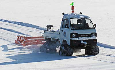 Bernardston Gill Leyden: Snowmobile Club groomer
