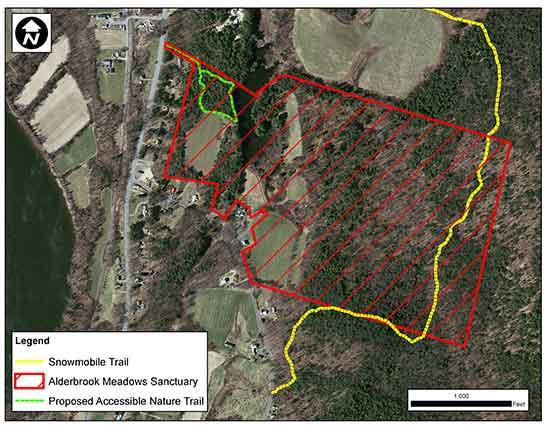 Alderbrook-Meadow-Sanctuary-Northfield-map