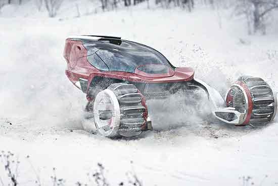 Rapid Deployment Snow Vehicle