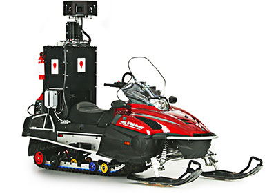 Google Street View Snowmobile