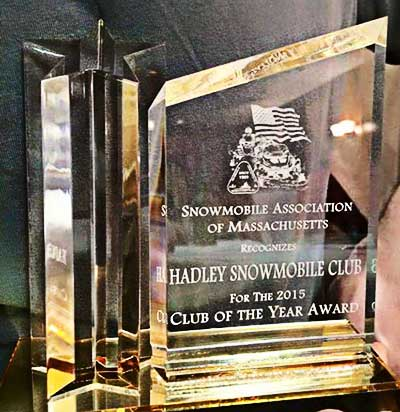 2015 snowmobile club of the year award