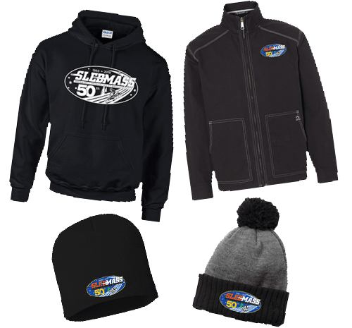 Hoodies, jackets, beanies, snow hats and much more!