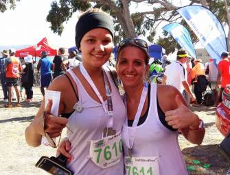 Jeanine completes her first half marathon