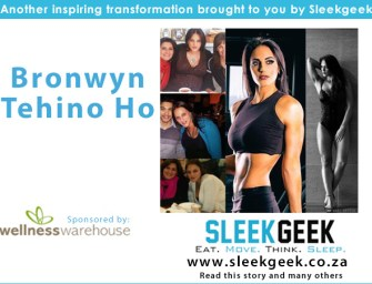 Bronwyn Tehini Ho from flabby mom to fitness competitor