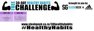Sleekgeek 30-Day Healthy Habit Challenge Week 5 powered by adidas