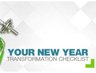 Your new year transformation checklist