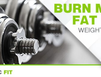 BURN MORE FAT WITH WEIGHT TRAINING