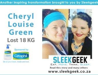 Cheryl Took Charge of Her Life and Lost 18kg!