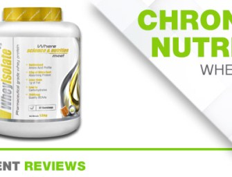 CHRONICLE NUTRITION WHEY ISOLATE
