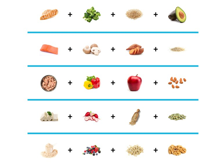 healthy meal template featured image