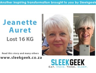 Jeanette Discovered a New Way of Life, and Lost 16kg!