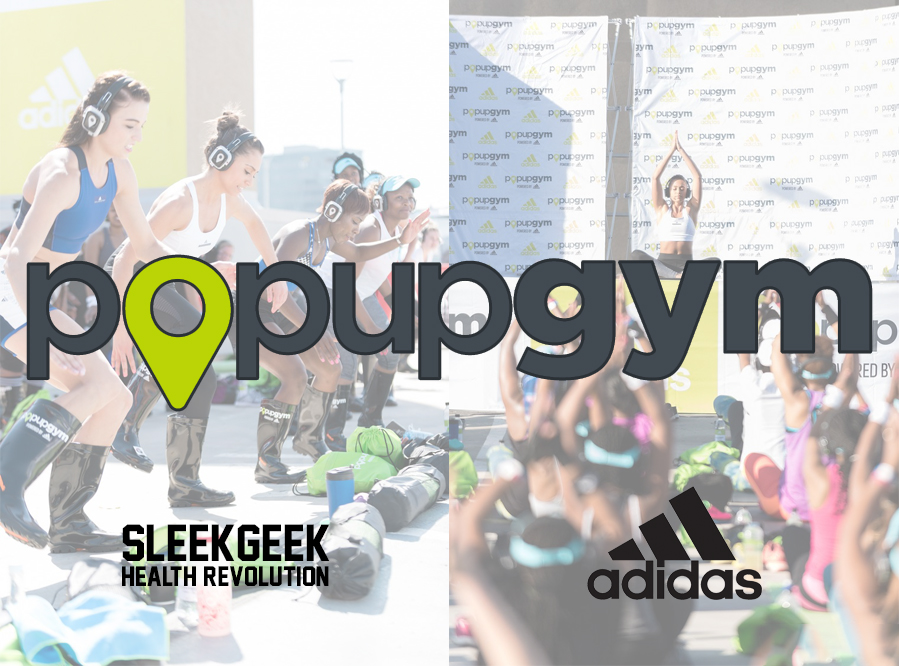 PopUpGym Century City Square Canal Walk powered by adidas sleekgeek