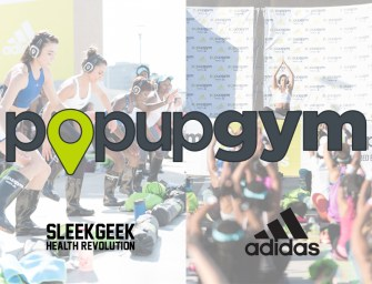 PopUpGym Cape Town – Sunset Fitness Party powered by adidas