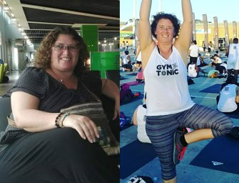 Ethel Snyman lost 40kgs and built a fit lifestyle