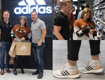 adidas shopping spree for Zelma Jacobs!