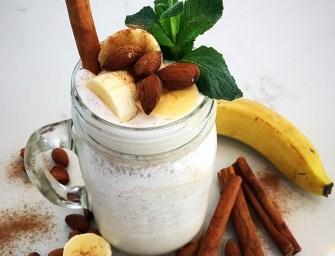 [Recipe] Banana Almond Smoothie