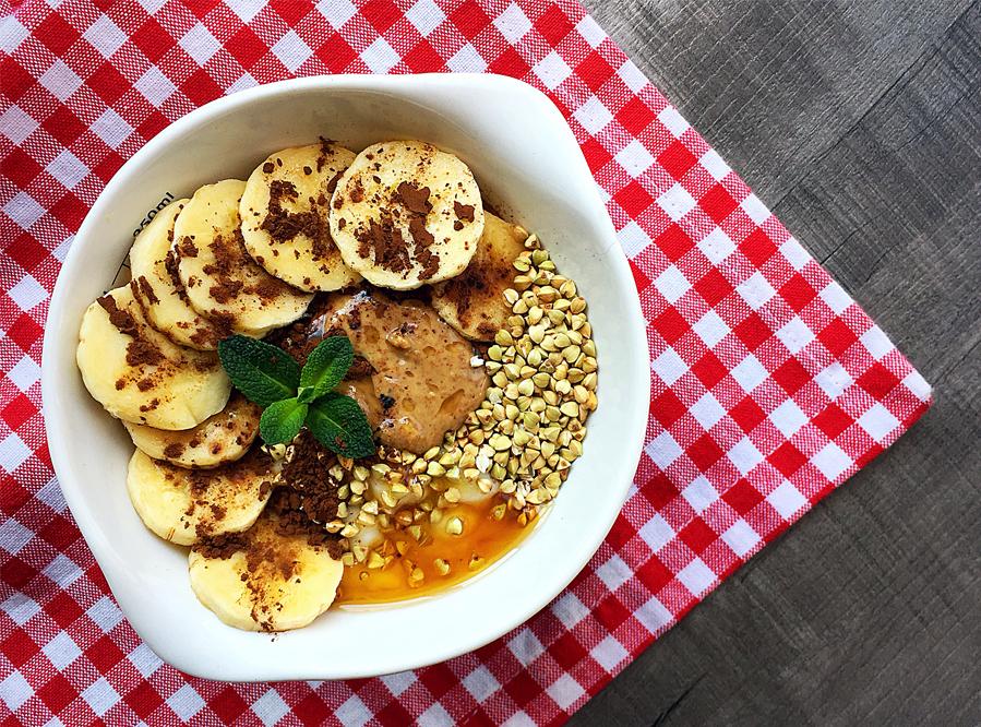 Recipe – Banana Buckwheat Bowl