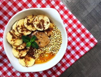 [Recipe] Banana Buckwheat Bowl