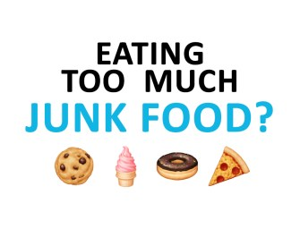 What to do if you're eating too much junk food
