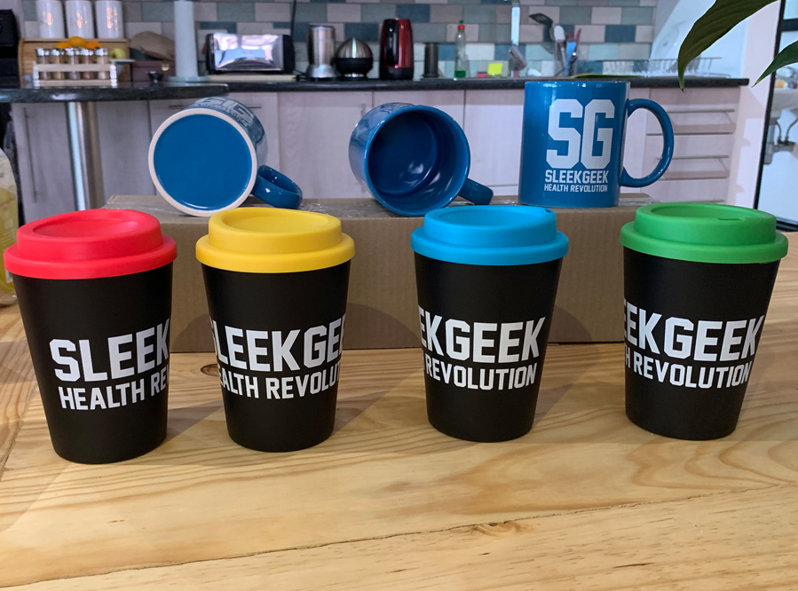 Sleekgeek Re-Usable Cups and Mugs