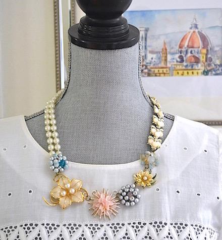 Handmade Jewelry, Handmade Necklace, Repurposed Jewelry, Repurposed Necklace, Home