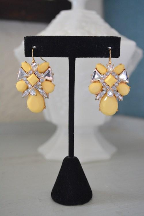 Yellow Earrings, Daffodil Yellow Earrings,Yellow Jewelry, Pale Yellow Earrings, Buttercup Yellow Earrings