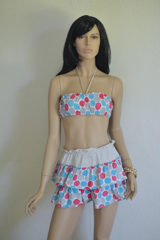 Polka Dot Bathing Suit, Vintage Bathing Suit, Vintage Clothes, Vintage Shorts Set, Polka Dot Swim Suit, Arleen Airess, Vintage Arlene Airess