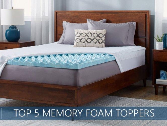 Highest Rated Memory Foam Mattress Topper Reviews