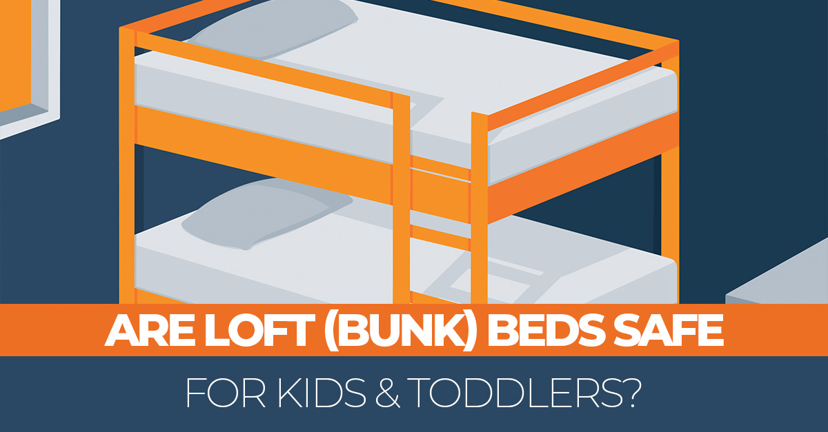 Are Bunk Beds Really Safe For Kids Toddlers Avoiding An Injury