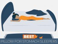 best pillow for stomach sleeper
