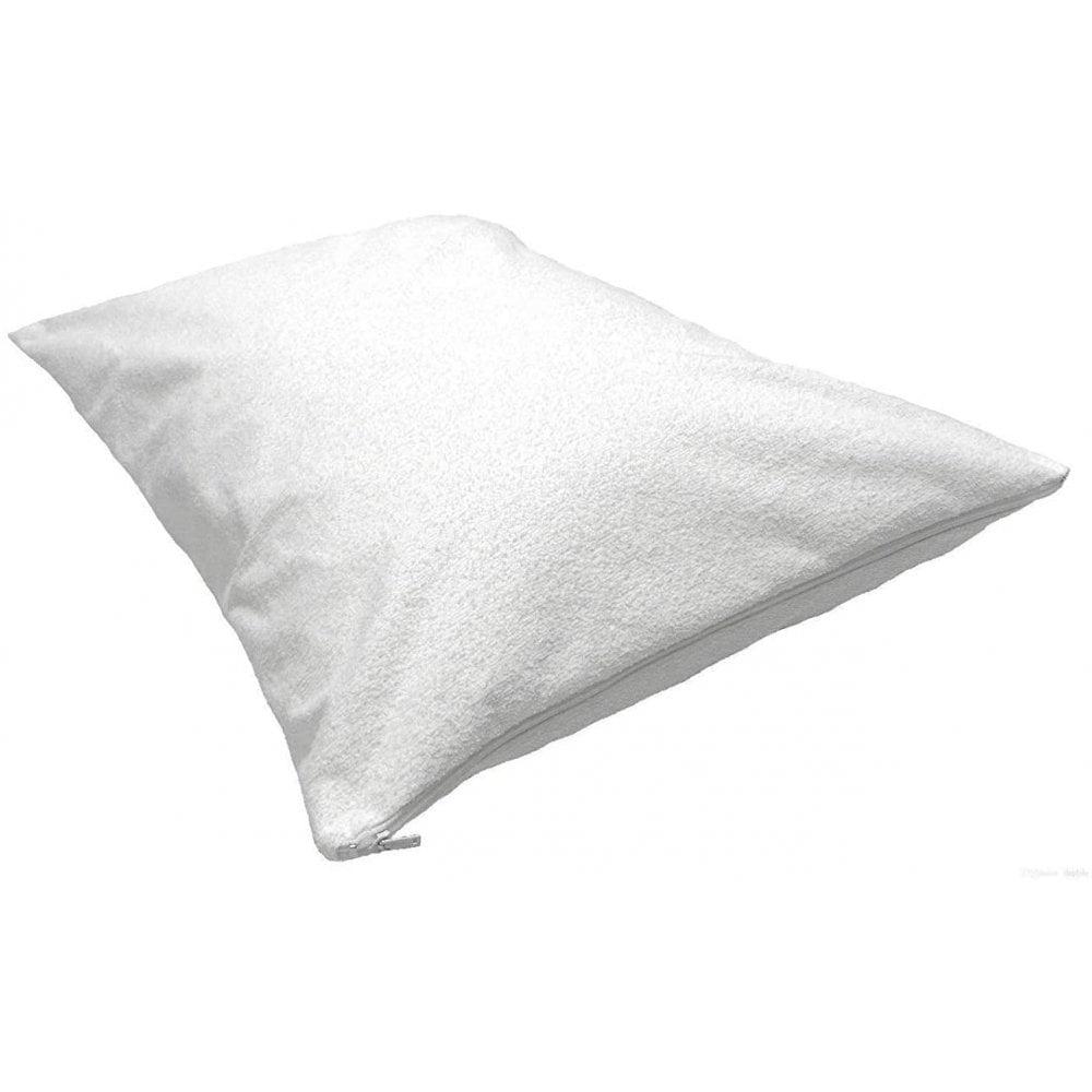 terry waterproof pillow protectors 2 pack