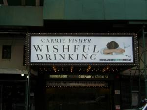 Carrie Fisher Wishful Drinking