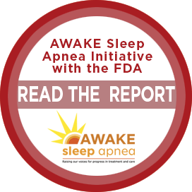 AWAKE sleep apnea initiative Report