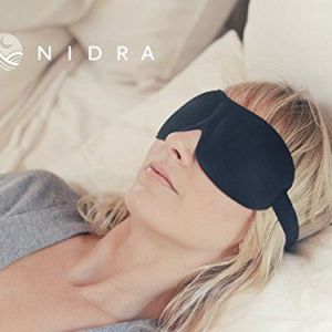 1-Rated-Patented-Sleep-Mask-Premium-Quality-Eye-Mask-with-Contoured-Shape-by-Nidra-Great-Holiday-Gift-Ultra-Lightweight-Comfortable-Adjustable-Head-Strap-Sleep-Anywhere-Anytime-Sleep-Satisfaction-Guar-0