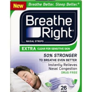 104-Strips-Breathe-Right-Nasal-Strips-EXTRA-CLEAR-For-SENSITIVE-SKIN-0