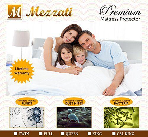 Mezzati #1 Premium Hypoallergenic Mattress Protector - ON ...