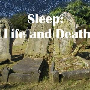 Sleep: Life and Death