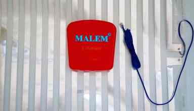 malem ultimate bedside bedwetting alarm with pad