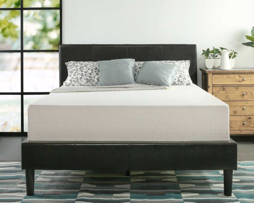 Best Zinus Memory Foam Mattress for heavy people