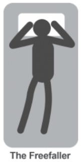 Freefaller posture