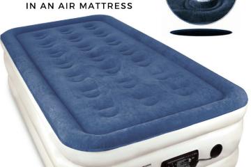 How to find a leak - air mattress