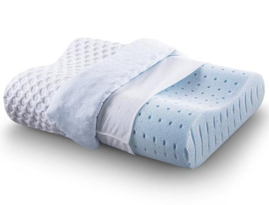 Comfort & Relax Ventilated Memory Foam Contour Pillow