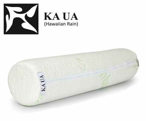 Ka Ua Hawaiian Rain Neck Roll Pillow Cervical Bolster