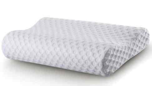 Cr Sleep Memory Foam Contour antimicrobial Pillow