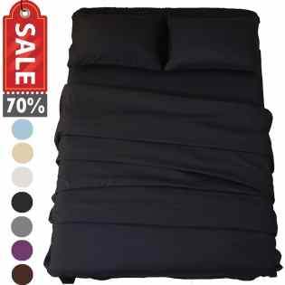 Sonoro Hypoallergenic Soft Microfiber Kate Bed Sheet Set