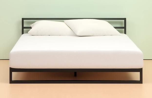 Zinus green tea memory foam comfort and pressure relieving mattress